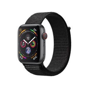Apple Watch Series 4 GPS+Cellularモデル 44mm MTVV2J/A [ブラックスポーツループ][新品][送料無料] et8