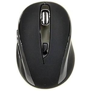 【送料無料】UNIQ サイレントマウス[ワイヤレス2.4GHz・USB] RETORO POP BCM612GB(5ボタン・ブラック)|et8