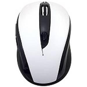 【送料無料】UNIQ サイレントマウス[ワイヤレス2.4GHz・USB] RETORO POP BCM612GW(5ボタン・ホワイト)|et8
