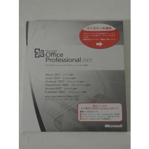 Microsoft Office Professional 2007 日本語 OEM版 + PCパーツセット の商品画像