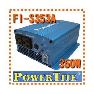 FI-S353A 未来舎(POWERTITE) 正弦波インバーター 電源電圧:48V|etech