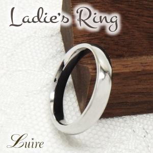 リング 10金 シンプルリング 結婚指輪 マリッジリング K10ゴールド 甲丸 指輪  k10WG/...