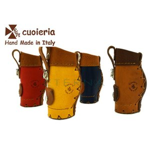 【箱なし】【店頭展示品】La cuoieria ラ・クオイエリア キーホルダー p252イタリアハンドメイド ギフト|eterna