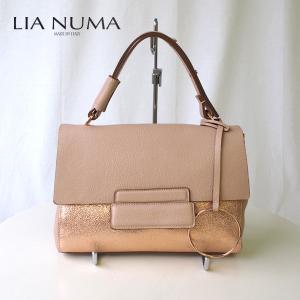 【店頭展示品】LIA NUMA リアヌマ ハンドバッグ 8068 イタリアインポート イタリア製 italy ワンランク上|eterna