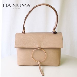 LIA NUMA リアヌマ ハンドバッグ 8075 イタリアインポート イタリア製 italy|eterna