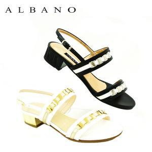 アルバノ ALBANO  2057 サンダル Made in Italy|eterna
