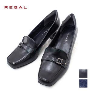 REGAL リーガル  レディース  レザー 本革 パンプス ヒール フォーマル 仕事靴 f18l|eterna