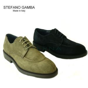 【店頭展示品】イタリアインポート STEFANO GAMBA ステファノガンバ 7616 カジュアルシューズ 紐靴 ブランド 本革 メンズ|eterna