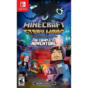 Nintendo Switch Minecraft Story Mode The Complete Adventure マインクラフト ストーリーモード コンプリートアドベンチャー 輸入 北米版
