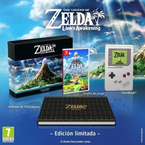 【新品】ゼルダの伝説 夢を見る島 コレクターズエディション The Legend of Zelda ...