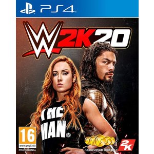 WWE2K20 PS4  UK輸入版 日本のPS4でプレイできます 英語表記  【本商品は予約商品で...