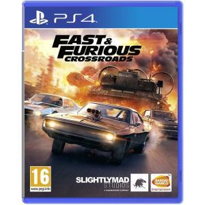 【新品】Fast & Furious Crossroads (ワイルドスピード) PS4 輸入版