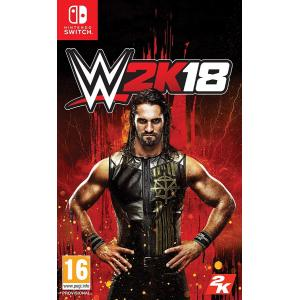 WWE 2K18 Nintendo Switch UK 輸入版  日本のニンテンドースイッチでプレイ...