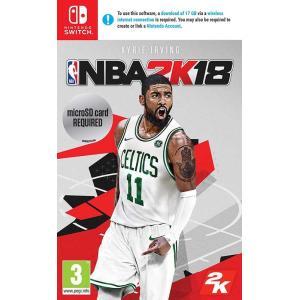 【新品】NBA 2K18 Nintendo Switch UK 輸入版 日本語対応