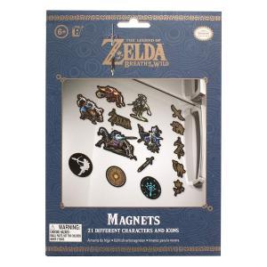 Nintendo Switch ゼルダの伝説 ブレスオブザワイルド をデザインしたカッコいいマグネッ...