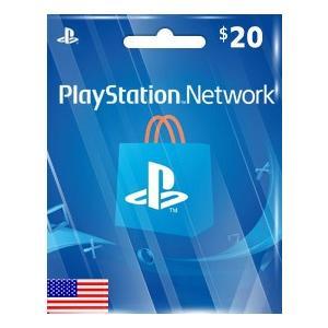 【メール通知】PlayStation Network Card $20 プレイステーション ネットワ...
