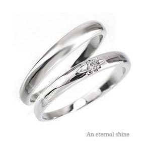 結婚指輪 ペアリング 2本セット プラチナ900 pt900 マリッジリング ダイヤモンド ブライダル メンズ レディース|eternally
