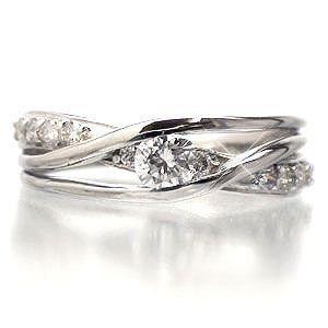 ダイヤモンド リング ピンキーリング 指輪 ダイヤモンド 0.25ct プラチナ900 pt900 レディース ジュエリー アクセサリー|eternally