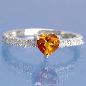 シトリントパーズ ダイヤモンド 0.25ct エタニティリング 指輪 プラチナ900 pt900 レディース ジュエリー アクセサリー|eternally