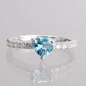 ブルートパーズ ダイヤ 0.25ct エタニティリング 指輪 プラチナ900 pt900 レディース ジュエリー アクセサリー|eternally