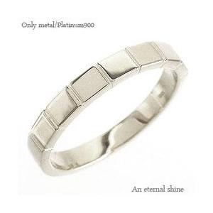 指輪 幅広 プラチナ900 pt900 メンズ リング 男女兼用 レディース ジュエリー アクセサリー|eternally