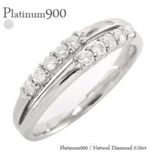 ダイヤモンド リング 10石 プラチナ900 pt900 0.2ct 指輪 テンダイヤモンド レディース ジュエリー アクセサリー|eternally