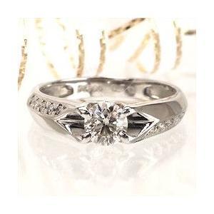 婚約指輪 エンゲージリング プラチナ900 pt900 ダイヤモンド リング ダイヤ 0.5ct 指輪 レディース ジュエリー アクセサリー|eternally