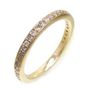 フルエタニティリング ダイヤモンド リング ダイヤ 0.30ct 指輪 サイズ8号 K18イエローゴールド 18金 レディース