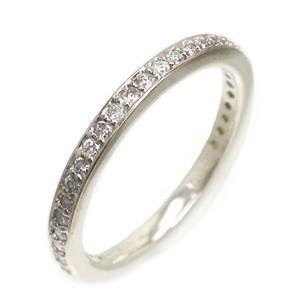 フルエタニティリング ダイヤモンド リング ダイヤ 0.36ct 指輪 サイズ14号 K18ホワイトゴールド 18金 レディース
