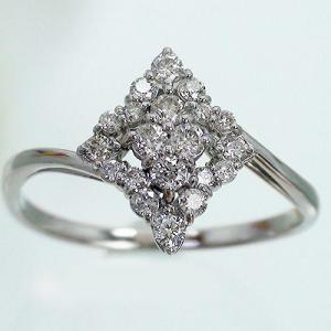 ダイヤモンド リング 0.3ct 指輪 プラチナ900 pt900 フラワー ダイヤモンド リング レディース ジュエリー アクセサリー|eternally