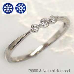 ハートアンドキューピッド ダイヤモンド リング プラチナ900 pt900 ピンキーリング 指輪 レディース ジュエリー アクセサリー|eternally