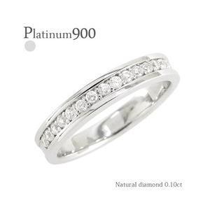 pt900 ダイヤモンド リング ハーフエタニティリング ダイヤ 0.21ct 指輪 プラチナ900 pt900 レディース アクセサリー|eternally
