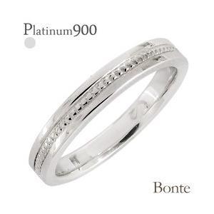ミル打ち 地金 メタル プラチナ900 pt900 3mm幅 リング 指輪 結婚指輪 男女兼用 レディース ジュエリー アクセサリー|eternally