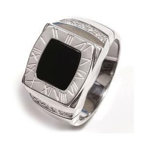 オニキス メンズリング 印台リング シルバーリング メンズ 指輪 シルバー925 sv925 レディース ジュエリー アクセ アクセサリー プレゼント|eternally