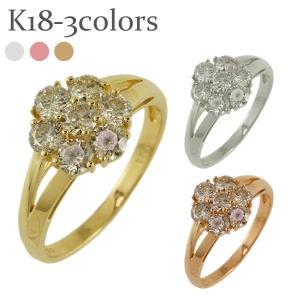 ダイヤモンド リング ダイヤ 1ct 18金 指輪 レディース ジュエリー アクセサリー|eternally
