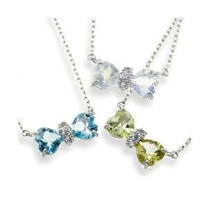 プラチナ900 pt900 リボン ネックレス 誕生石 ダイヤモンド 0.05ct ハート ペンダント レディース ジュエリー アクセサリー クリスマス プレゼント ギフト|eternally