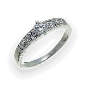 ダイヤモンド リング 0.5ct プラチナ900 pt900 指輪 レディース ジュエリー アクセサリー|eternally