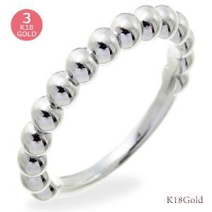 k18ゴールド 18金 リング 丸玉 ボール 小指 ピンキーリング 指輪 レディース ジュエリー アクセサリー|eternally