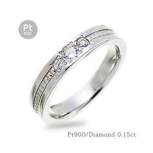 pt900 ダイヤモンド リング ダイヤ 0.2ct プラチナ900 指輪 レディース ジュエリー アクセサリー|eternally