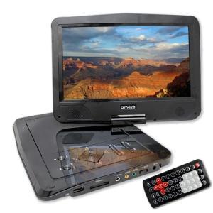 amaze CDリッピング機能つき 10インチ液晶ポータブルDVDプレーヤー /CDを簡単に MP3...
