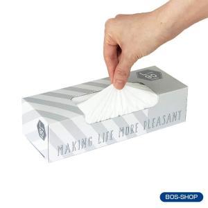 驚異の防臭袋 BOS (ボス) ★ストライプパッケージ/白色★Lサイズ90枚入 大人用 おむつ ・ ...