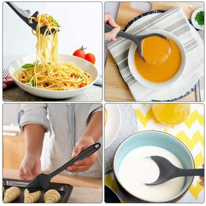 Acetek キッチンツール 10点セット クッキングツール 器具 台所用品 耐熱シリコン 日本食品安全認証済み FDA認証済み 調理 料理|eternalsea