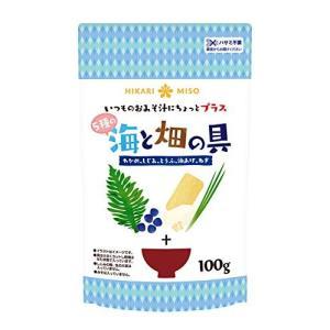ひかり味噌 海と畑の具 100g