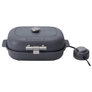 ドウシシャ 焼き芋メーカー タイマー付 ホットプレート 温度調節機能付 レシピブック付 グレー TW...