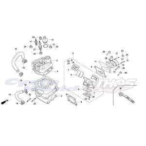 12191-NLA-700 ガスケット,シリンダー HRC ホンダレーシング ethosdesign