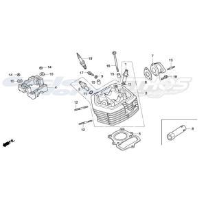 17110-NX2-000 パイプCOMP,インレット HRC ホンダレーシング|ethosdesign