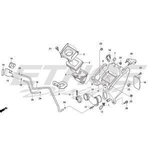 MONTESA HRC 17211-NN4-P10 エアクリーナーエレメント|ethosdesign