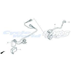 30510-NX2-000 コイルCOMP,イグニッション HRC ホンダレーシング|ethosdesign