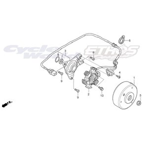 31120-NX2-003 ステーターCOMP HRC ホンダレーシング ethosdesign