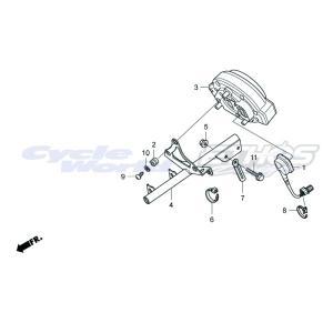37250-NX7-000 タコメーターASSY HRC ホンダレーシング ethosdesign
